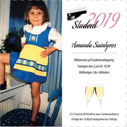 inbjudningskort student mall6