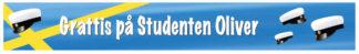 Studentbanderoll - banderoll till studenten